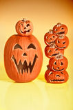 Halloween Jack O Lanterns Stock Image