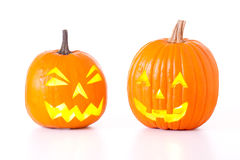 Halloween Jack O Lanterns Royalty Free Stock Images