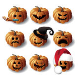 Halloween Jack O Lanterns Stock Image