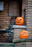Halloween Jack-O-Lanterns Stock Images