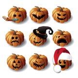 Halloween Jack O Lanterns Royalty Free Stock Photo