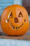 Halloween Jack-O-Laterne Stockbild