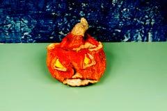 Halloween Jack-O-Laterne u. x28; Pumpkin& x29; Lizenzfreies Stockbild