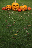 Halloween Jack-O-Laternen Lizenzfreies Stockbild