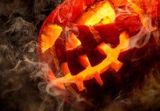 Halloween - Jack-o-linterna vieja Fotos de archivo libres de regalías