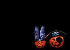 Halloween Jackolanterns Fotografie Stock