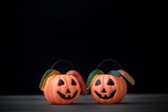 Halloween jelly sweets Royalty Free Stock Image