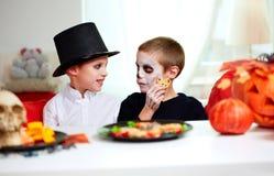 Halloween-jongens Stock Fotografie