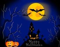 Halloween-Kürbis lizenzfreies stockbild