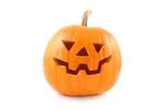 Halloween-Kürbis. Stockfotografie