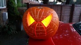 Halloween-Kürbis 2014 Lizenzfreies Stockbild