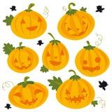 Halloween Kürbis vektor abbildung