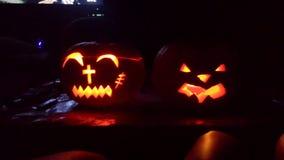 Halloween. Kürbis deko Stock Image