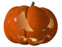 Halloween-Kürbis furchtsam Lizenzfreie Stockbilder