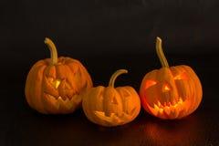 Halloween-Kürbis furchtsam und Festlichkeit Stockbilder