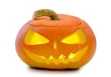 Halloween-Kürbis Jack O'Lantern Lizenzfreies Stockbild