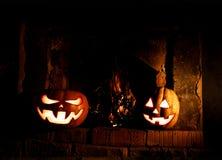 Halloween-Kürbise sind beeindruckend und, Glühen aus lustig stockfoto