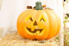Halloween, Kürbise und Halloween Stockfotografie