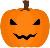 Halloween-Kürbisikone Stockfoto
