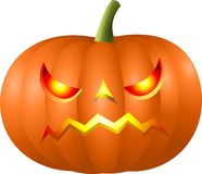 Halloween-Kürbiskopf Lizenzfreies Stockfoto