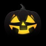 Halloween-Kürbislächeln Lizenzfreies Stockbild