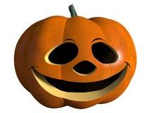 Halloween-Kürbislachen Lizenzfreie Stockfotos