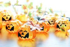 Halloween-Kürbislampe lizenzfreie stockfotografie