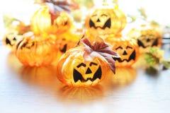 Halloween-Kürbislampe lizenzfreie stockbilder