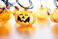 Halloween-Kürbislampe lizenzfreie stockfotos