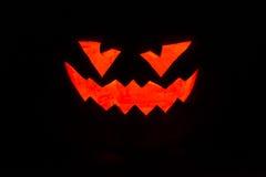 Halloween-Kürbisschwarzes lizenzfreies stockfoto