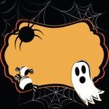 Halloween-kaart Vector Illustratie