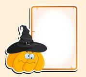 Halloween-Kader Royalty-vrije Stock Afbeeldingen