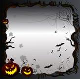 Halloween-Kaderachtergrond royalty-vrije illustratie