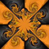 Halloween Kaleidoscope Stock Photos