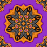 Halloween Kaleidoscope Stock Photo