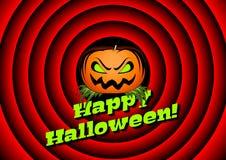 halloween karciana bania Zdjęcie Stock