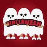 Halloween-Karikatur Stockbild
