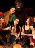 halloween karnawałowy przyjęcie Obraz Royalty Free