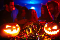 Halloween-Karneval Stockbild