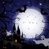 Halloween karta Obraz Stock