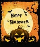 Halloween karta Zdjęcie Stock