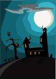 Halloween karta Fotografia Royalty Free