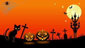 Halloween-kattenanimatie