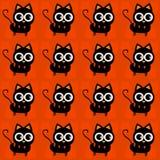 Halloween-Katzen Lizenzfreie Stockfotografie