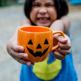 Halloween kid Stock Images