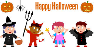 Halloween Kids Royalty Free Stock Photography