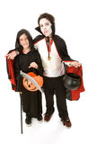 Halloween Kids - Boys in Costume Royalty Free Stock Photography