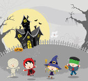 Halloween Kids Card Royalty Free Stock Image