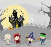 Halloween Kids Card Royalty Free Stock Image