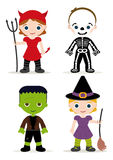 Halloween kids costume Stock Photos